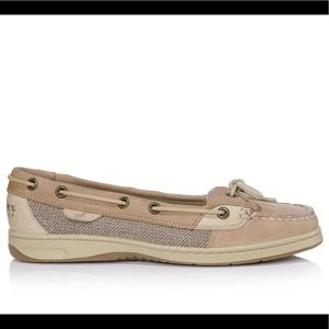 Sperry Top-Sider Tan Leather Angelfish Boat Shoe